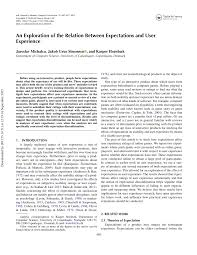 pdf the role of expectations in service evaluation a longitudinal study of a proximity mobile payment service