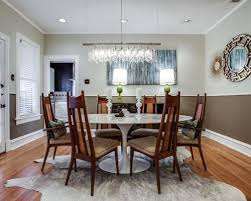 two tone dining room color ideas. enclosed dining room - mid-sized transitional medium tone wood floor idea two color ideas