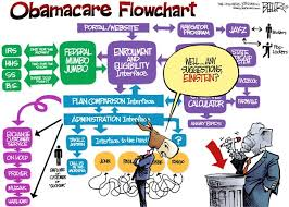 Flow Chart Cartoon The New Obamacare Flow Chart Cartoon The Hsa Coalition