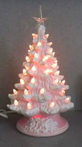 Ceramic Tabletop Christmas Tree With Lights