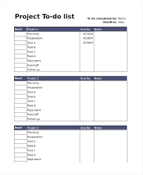 Template To Do List Word To Do List Free Word Excel Documents Download Project