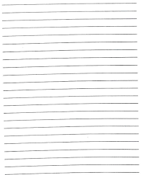 Blank Handwriting Worksheets Free Printable Writing Paper