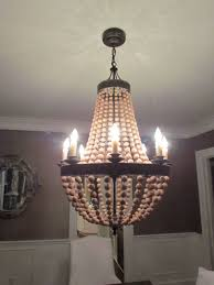 pottery barn chandelier knock off instructions wine bottle lamp from
