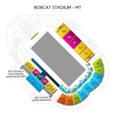 Bobcat Stadium Seating Chart Montana State Bobcats Tickets Ticketcity