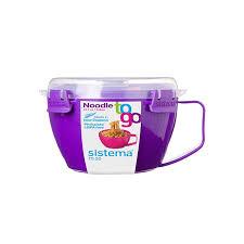 """Кружка для лапши Sistema """"<b>To-go</b>"""" 940мл, фиолетовая, 21109 ..."""