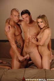 Erotic threesome mmf bi