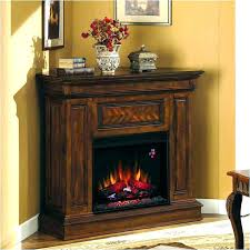 white electric fireplace entertainment center corner real flame frederick