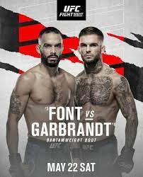 2021 UFC Fight Night Font vs Garbrandt ...