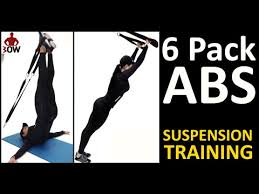suspension workout 24 six pack abs bow or trx