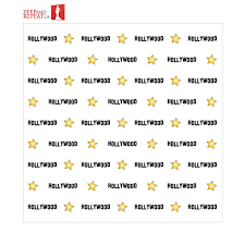 8 X 8 Hollywood Step And Repeat Banner Rental
