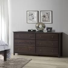 espresso finish solid pine shaker drawer dresser  ebay