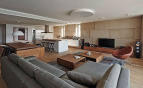 Open Kitchen And Living Room Design Interior Design Open Kitchen Living Room Granite Island Spaces