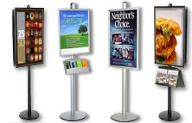 Display Stands For Posters Display Stands Poster Frames iPad Stands More 2