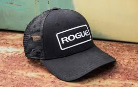Rogue Patch Trucker Hat - Black Logo Cap | Europe