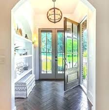 home entryway flooring ideas foyer flooring ideas foyer design foyer with herringbone hardwood floors and arched nook with and shelves foyer flooring ideas