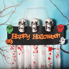 Haunted House <b>Horror Props CREEPY</b> DECAL CLINGS <b>Halloween</b> ...