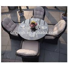 luxury modern outdoor 4 seater round