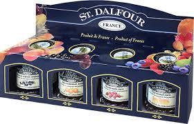 St. Dalfour подарочный <b>набор 4</b> джема персик, малина, апельсин ...