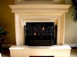 unique gas fireplace mantels ideas