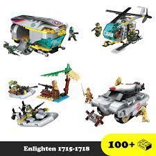 Đồ chơi lắp ráp mô hình quân sự - Lego Enlighten Army 1715 /Enlighten1718 - Đồ  chơi xếp hình trí tuệ chính hãng 120,000đ