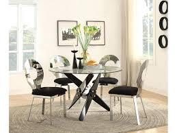 black round dining set round dining set in black chrome black dining set 6 chairs black round dining