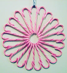 Awesome Ideas For Candy Cane Christmas Wreath  Candy Cane Wreath Candy Cane Wreath Christmas Craft