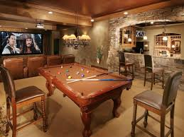 Elegant Basement Ideas Man Cave  CageDesignGroup - Unfinished basement man cave ideas