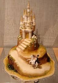 Fairy Castle Wedding Cakes And Wedding Beach Favors