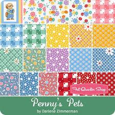 Penny's Pets by Darlene Zimmerman for Robert Kaufman Fabrics ... & Fabrics Adamdwight.com
