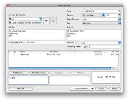 Computer Invoice Software Top 6 Free Invoice Software For Mac Macos 10 14 Included