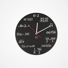 cool office clocks. 3. Pop Quiz Clock Cool Office Clocks W