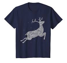 Design Your Own Bedazzled T Shirt Amazon Com Kids Bling Reindeer Costume Diy Template Shirt