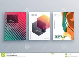 Creative Title Page Creative Abstract Minimal Brochure Template Or Cover Page Poster