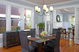 silver fox paint color dining room traditional with chandelier shades bronze tiffany on the