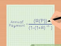 loan formulas 2 easy ways to calculate an annual payment on a loan