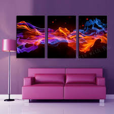 3 piece canvas art fire flower canvas painting artwork modern decorations for home canvas picture paint on canvas prints j0416 in painting calligraphy  on flower wall art prints with 3 piece canvas art fire flower canvas painting artwork modern