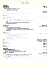 Resume. College Student Resume Templates Microsoft Word - Best ...