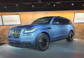 2018 lincoln navigator concept. contemporary 2018 lincoln navigator concept surprises with gullwing doors in new york video   the fast lane truck intended 2018 lincoln navigator concept