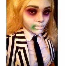 my beetlejuice makeup 2016