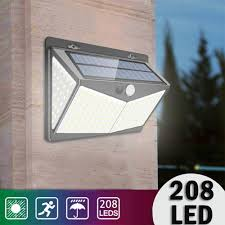 Eco Solar Lights Us 12 67 10 Off Outdoor Solar Light Sensor Light Durable Eco Friendly 208 Led Ip65 Security Street Lamp Walkway Lights Wall Light On Aliexpress