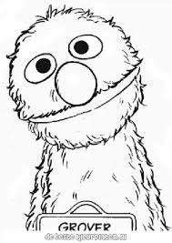 Baby Sesame Street Coloring Pages Coloring Home