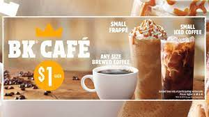 Burger king has vanilla and mocha flavored iced coffee but both are just as gross as the hot coffee. Burger King Offers 1 Any Size Brewed Coffee As Part Of 1 Bk Cafe Deals Chew Boom
