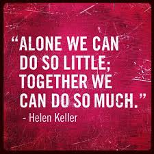 Group Quotes Simple Home Quotes Pinterest Helen Keller Helen Keller Quotes And