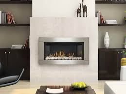 gas wall fireplace with white stones quecasita pertaining to modern plan 14