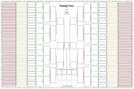 7 Generation Pedigree Chart Free 8 Generation Family Tree Template Unique My Family Tree 7