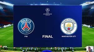 PES 2020 | PSG vs Manchester City | Final UEFA Champions League UCL