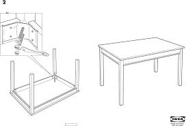 Ikea Instruction Manuals Ikea Tables Jokkmokk Table Pdf Assembly Instruction Free Download
