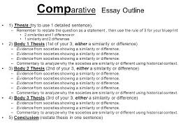 essay questions ap world history general information nd part of  comp arative essay outline 1 thesis try to use 1 detailed sentence
