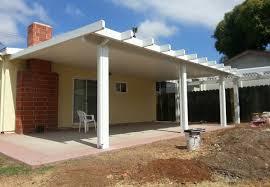 aluminum patio covers. Exellent Aluminum Flat Pan Aluminum Patio Cover Poway In Covers