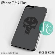 under armour iphone 7 plus case. under armour punisher phone case for iphone 7 and plus iphone